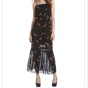 Kensie Butterfly Maxi Dress